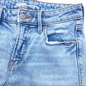 Old Navy Straight Jeans, light wash, size 2
